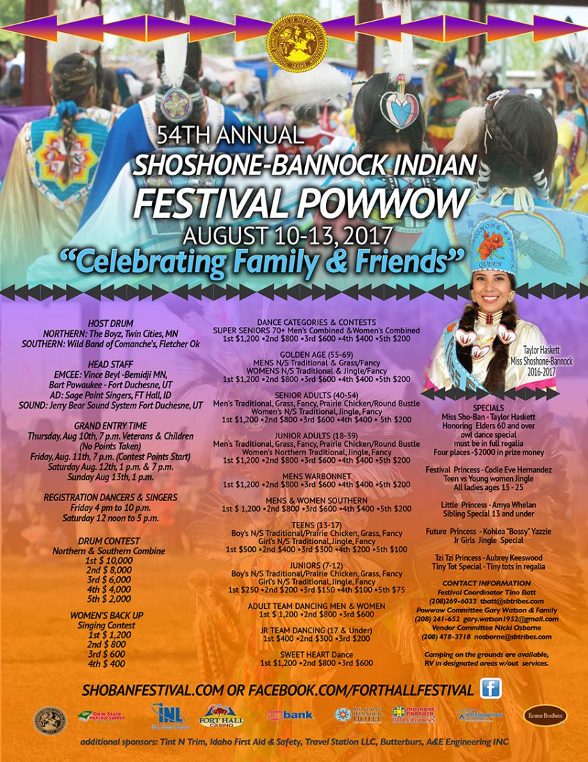 Shoshone-Bannock Indian Festival