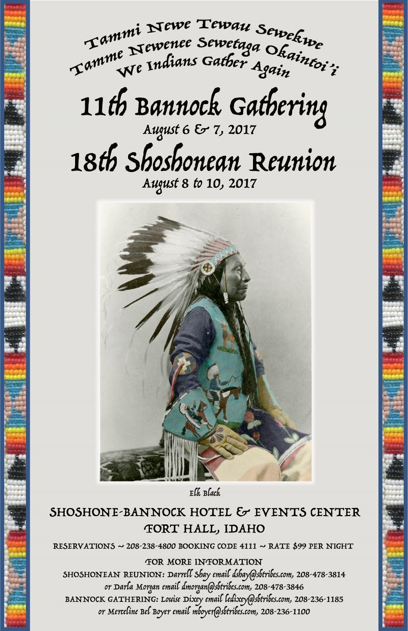 Shoshonean and Bannock Gathering